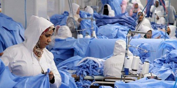 Unite textile combinaisons medicales egypte industrie